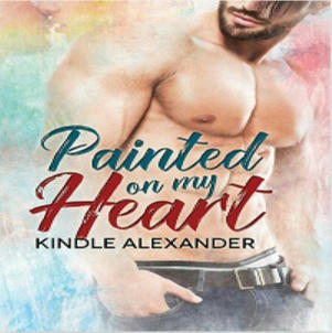 Kindle Alexander - Painted on my Heart Square