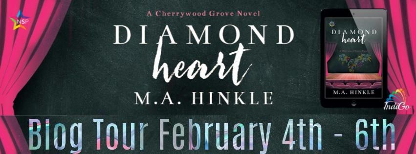 M.A. Hinkle - Diamond Heart RB Banner