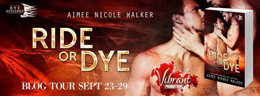 Aimee Nicole Walker - Ride or Dye Tour Banner
