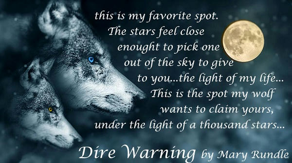 Mary Rundle - Blackwood Pack Dire Warning Teaser