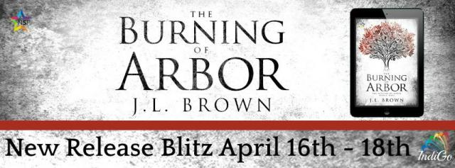 J.L. Brown - The Burning of Arbo RBBanner