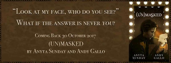 Anyta Sunday & Andy Gallo - Unmasked Banner