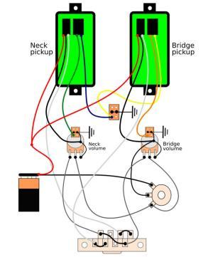 Help needed! Wiring schematic for Fishman KSE set