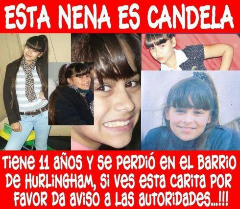 candela sol rodriguez, argentina, urgente, desaparecida, candela, Nancy Labrador, foto, fotos, murio, noticia