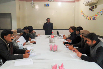 "Training Session For Journalists in Nankana Sahib on ""News Quality and News Value"""