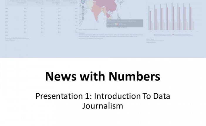 Introduction to Data Journalism