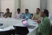 MF360 organises training sessions on Investigative Journalism in Larkana