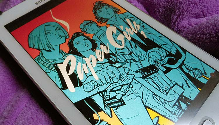 "HQ: ""Paper Girls"" de Brian K. Vaughan"