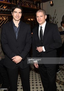 Brandon Routh e Wentworth Miller