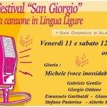 """Albenga: al via la 20° edizione del Festival """"San Giorgio"""" della Canzone in Lingua Ligure"""