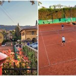 Sfilata di campioni all'Hanbury Tennis Club di Alassio