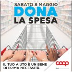 """Sabato 8 maggio nei punti vendita di Coop Liguria torna la raccolta solidale """"Dona la spesa"""""""