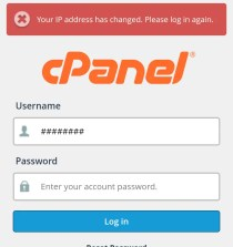 Simple Trick to Fix IP Address change on cPanel