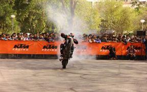KTM organises Stunt show Delhi