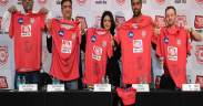 Kings XI Punjab welcomes on board Aaj Tak as the Title Sponsor and unveils the jersey