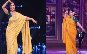Bharti Singh as Madhuri Dixit on COLORS' Khatra Khatra Khatra