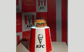 Zinger Burger at Madame Tussauds Delhi