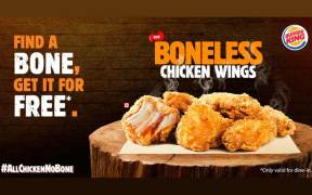 Burger King challenged its consumers with its new Boneless Chicken Wings