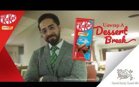 KITKAT Dessert Delight and Ayushmann Khurrana urge youth to Unwrap a Dessert Break for themselves