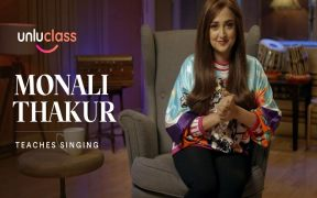 Unluclass collaborates with Monali Thakur