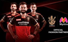 Myntra becomes the Official Fashion Partner of RCB
