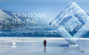 Epson Partners with National Geographic for Turn Down the Heat