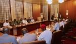 PRESIDENT BUHARI PRESIDES OVER SECURITY MEETING. FEB 12 2018