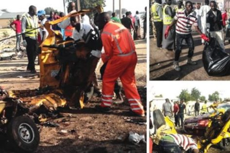 Two suicide bombers die, nine hurt in foiled attack on Maiduguri