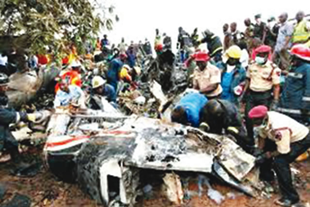 20 burnt to death in Ondo road accident