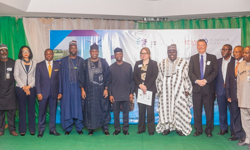 VP Osinbajo declares open the Joint West African Regional Global Infrastructure Hub, Public-Private Partnership risk allocation & Public-Private Partnership contract management tools dissemination workshop. 16th October, 2018.