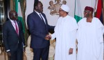 PRESIDENT BUHARI RECEIVES SPECIAL ENVOY FROM SOUTH SUDAN