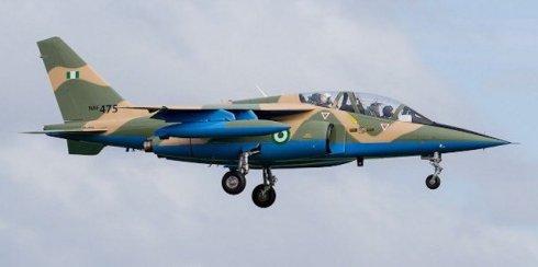 NAF jet destroys B'Haram tactical Hqts in Borno