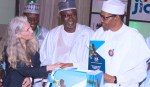 PRESIDENT BUHARI LAUNCHES NAT WASH ACTION PLAN IN ABUJA. NOV 8 2018