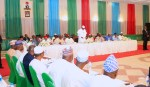 PRESIDENT BUHARI AT THE INAUGURAL MEETING OF 2019 PCC. JAN 10 2019