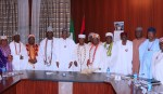 PRESIDENT BUHARI RECEIVES TRADITIONAL RULERS FROM SOUTH WEST. JAN 11 2019