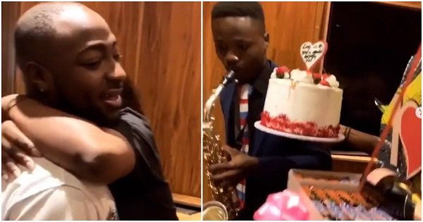 Valentine's: Davido surprises Chioma with gifts
