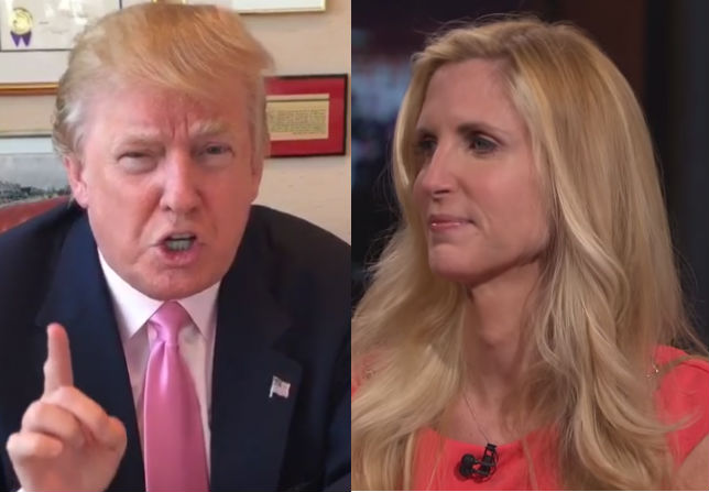 Image result for ann coulter and donald trump