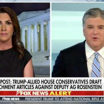 Hannity Goes After NYT Over Report on Mueller Questions: My Sources Say They're 'Full of Crap'