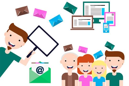 Mediakit laatii sähköpostikampanjat ja tuottaa sisällön uutiskirjeisiin.