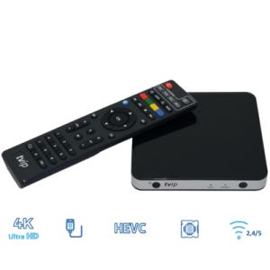 V 605 IPTV box met remote