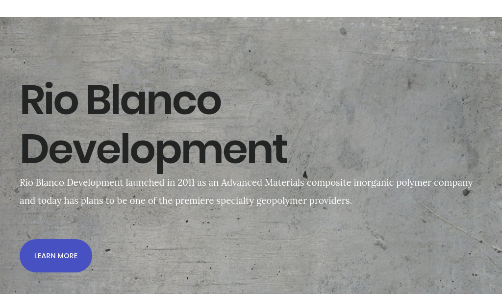 Rio Blanco Development