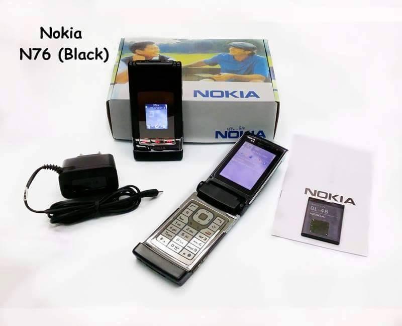 Nokia-n76 black