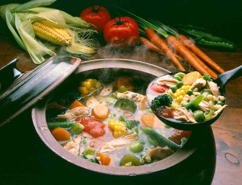kandungan gizi sayuran organik