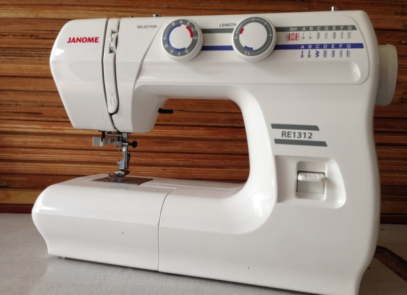 JANOME RE 1312