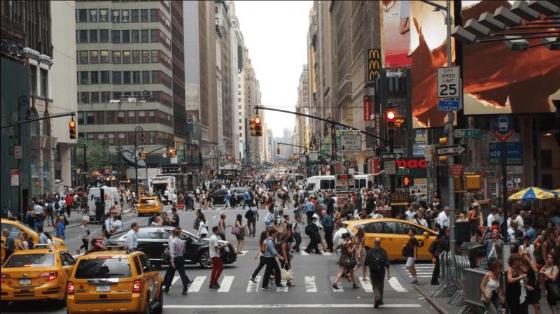 pemandangan kota new york