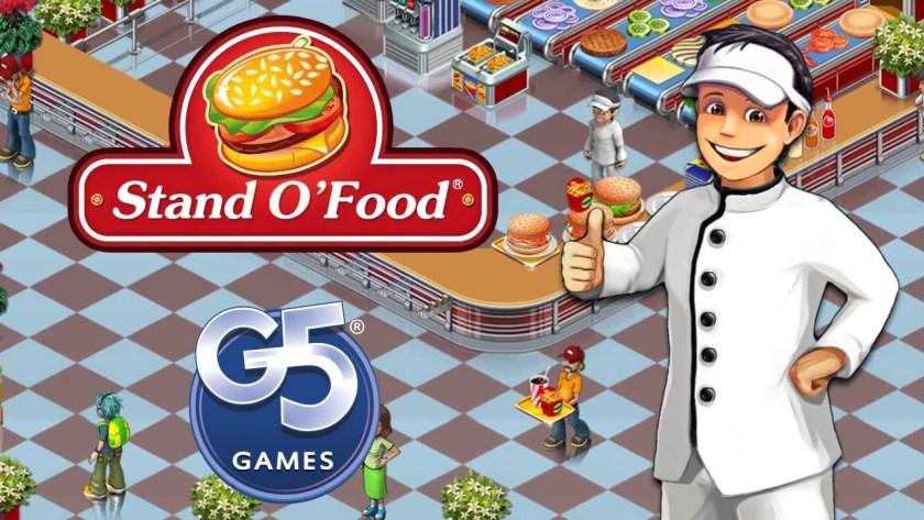 Stand O Food 3 games memasak