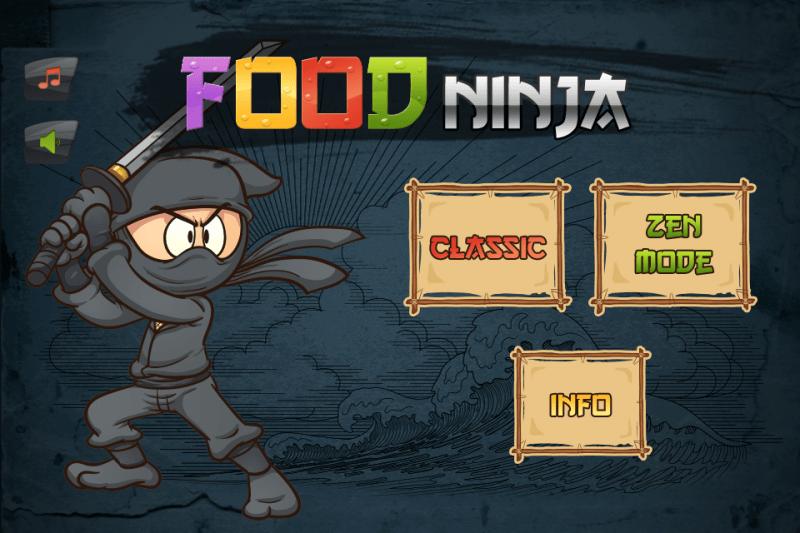 permainan memasak Food Ninja