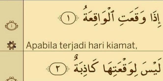 Kandungan dari Surat al Waqiah