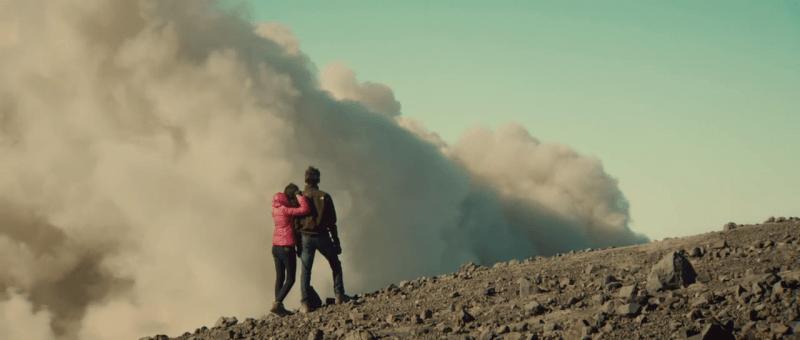 Gas Beracun di Jonggring Saloko gunung semeru