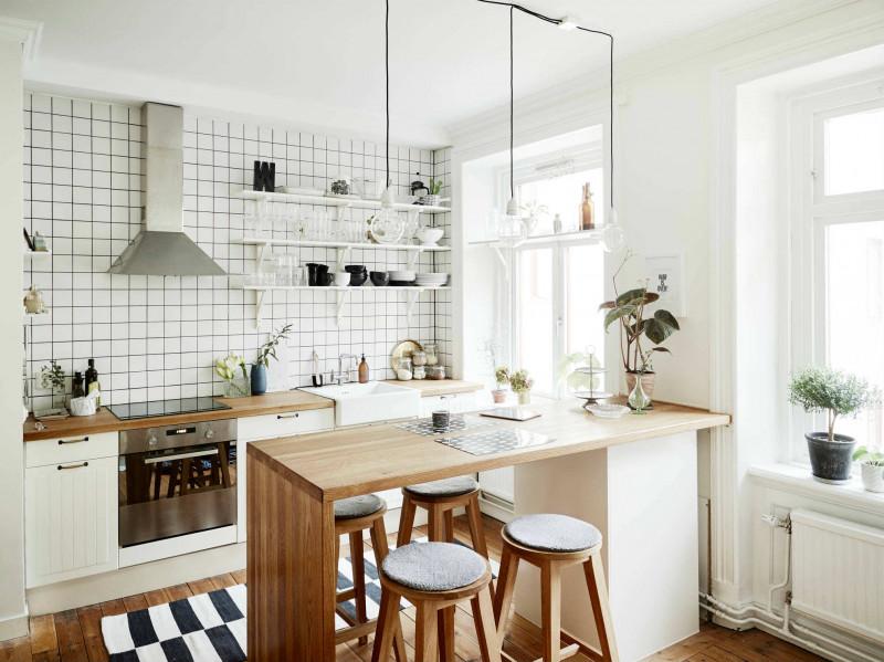 dapur minimalis nuansa putih
